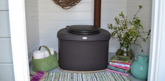 Kompostuokite biologines vasarnamio atliekas