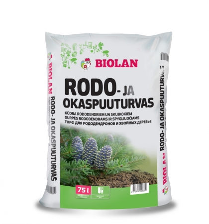 Biolan Rododendrų ir spygliuočių durpės